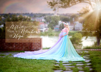 Rainbow Session, Maternity Photographer, Fredericksburg Photographer