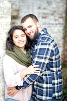 Save the date portrait, Couples photography, Fredericksburg Photographer, Engagement session